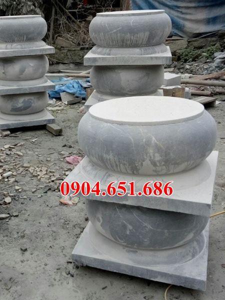 Mẫu đá kê chân cột gỗ tại Tây Ninh