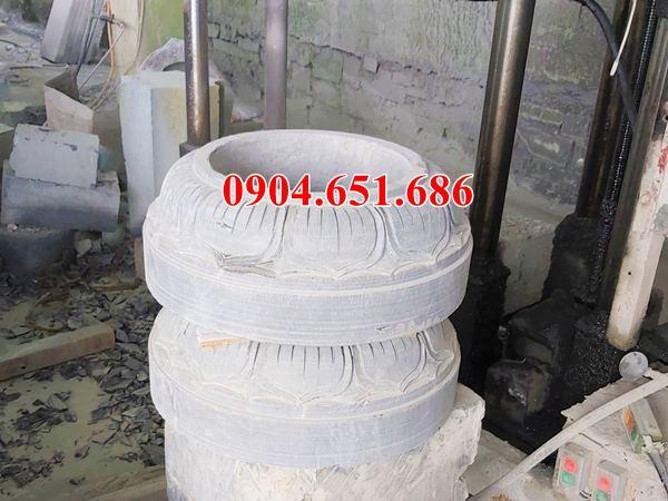 Mẫu chân cột bằng đá khối tự nhiên đẹp bán tại Gia Lai, KonTum