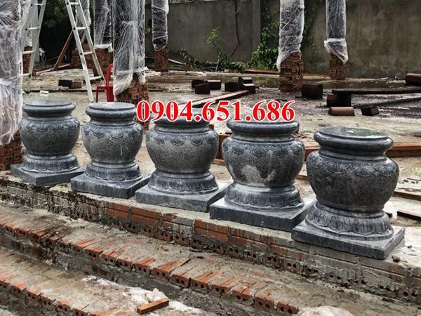 Mẫu chân tảng đá làm đình chùa