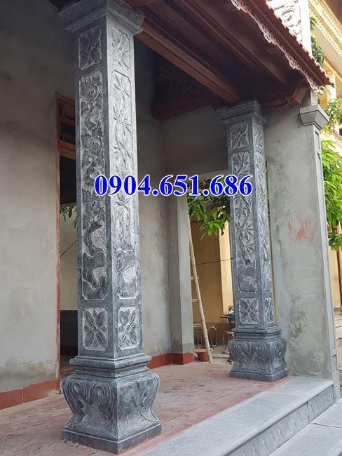 Địa chỉ bán cột đá khối tự nhiên đình chùa, đền chùa