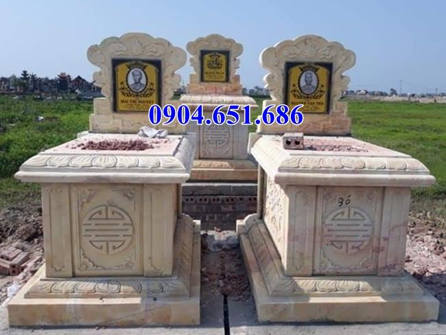 Địa chỉ bán, thiết kế, chế tác thi công lắp đặt mộ đôi đẹp uy tín chất lượng