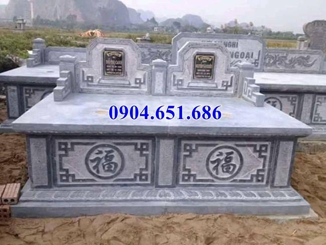 Địa chỉ bán, thiết kế, thi công lắp đặt mộ đôi đá mỹ nghệ