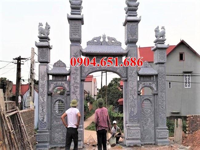 Địa chỉ thiết kế thi công làm cổng đình, chùa, nhà thờ, nhà từ đường, nhà thờ tổ