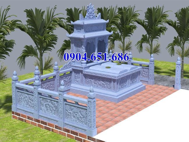 22 Mẫu thiết kế mộ đôi đá đẹp