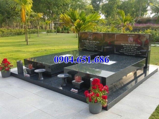 Giá mộ đôi đá hoa cương granite – mộ đôi đá hoa cương giá bao nhiêu