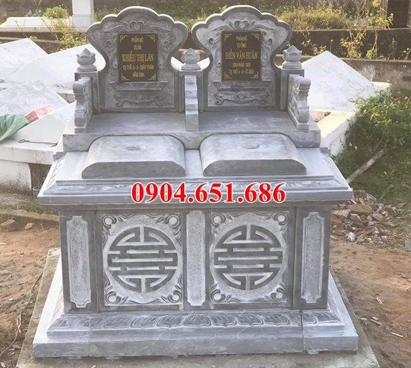 Kích thước mộ đôi cải táng hay hỏa táng