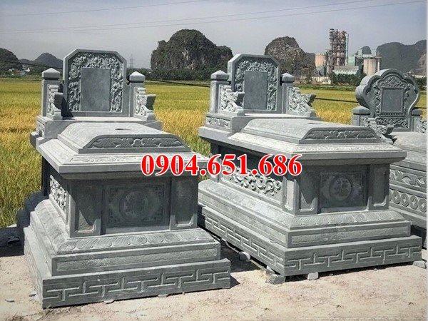 Mẫu mộ đôi không mái, mộ đôi bành, mộ đôi tam sơn, mộ đôi hậu bành