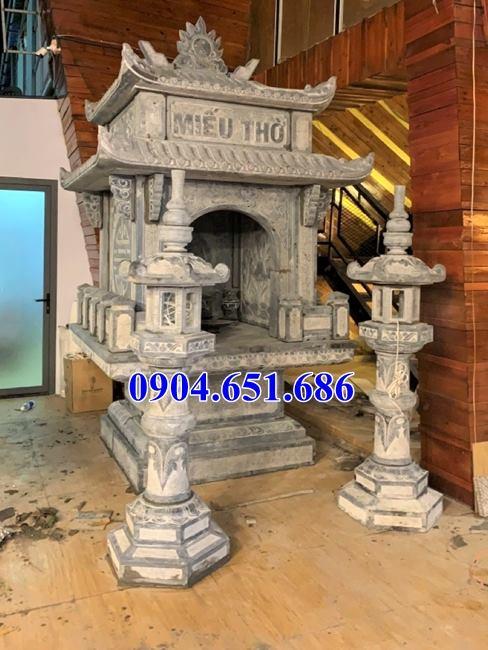 Địa chỉ xây miếu thờ thần linh bằng đá kích thước chuẩn phong thủy