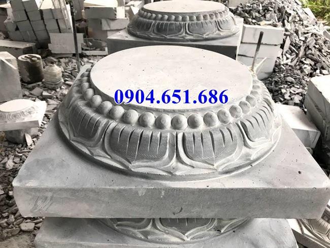 Bán đá kê chân cột nhà tại Bình Định