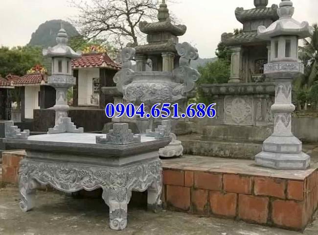 Kích thước của bàn thờ đá theo phong thủy