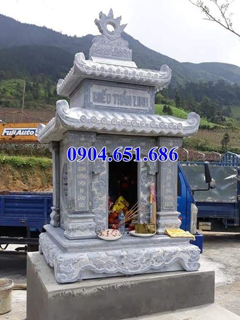 Kích thước xây miếu thờ bằng đá khối tự nhiên chuẩn phong thủy