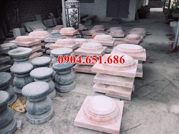 Mẫu đá kê cột nhà gỗ tại Quảng Ngãi