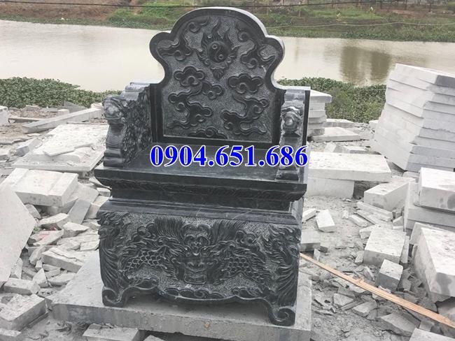 Mẫu bàn thờ ngoài trời bằng đá khối tự nhiên đẹp giá rẻ