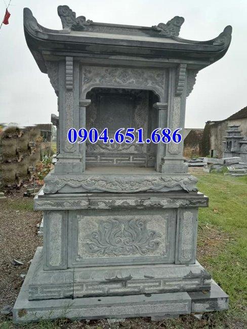 Mẫu bàn thờ thiên ngoài trời bằng đá đẹp hoa văn tinh xảo