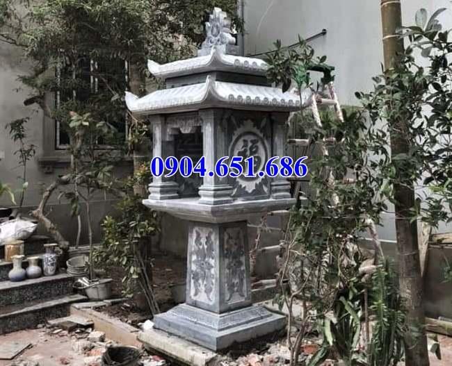 Mẫu cây hương, bàn thờ thiên chế tác từ đá khối tự nhiên đẹp