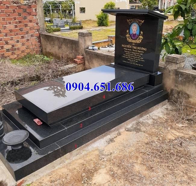 Mẫu mộ đá kim sa Ấn Độ kích thước chuẩn phong thủy