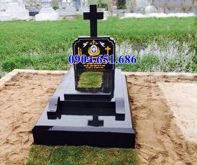 Mẫu mộ đạo công giáo đá hoa cương granite đẹp