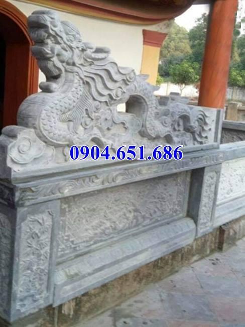 Mẫu rồng đá đình chùa thiết kế chuẩn phong thủy
