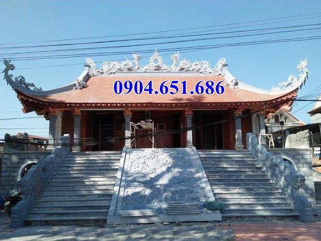 Mẫu thiết kế chiếu rồng đình chùa kích thước hợp phong thủy kiến trúc tâm linh