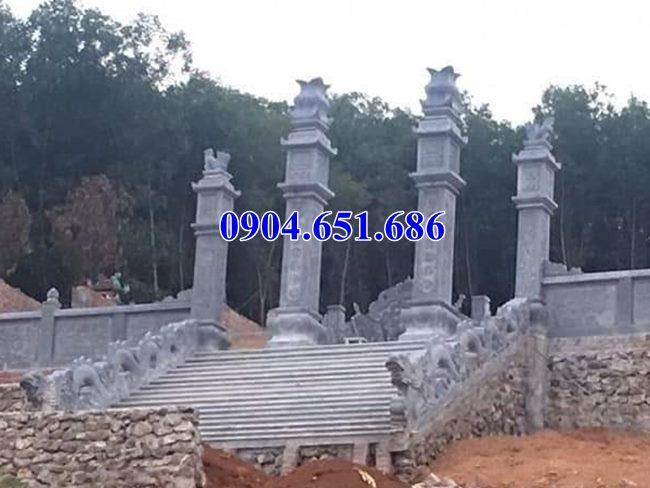 Rồng đá bậc thềm lan can lăng mộ đẹp