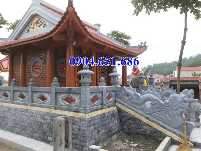 Rồng bậc tam cấp đá nhà mồ thiết kế hợp phong thủy