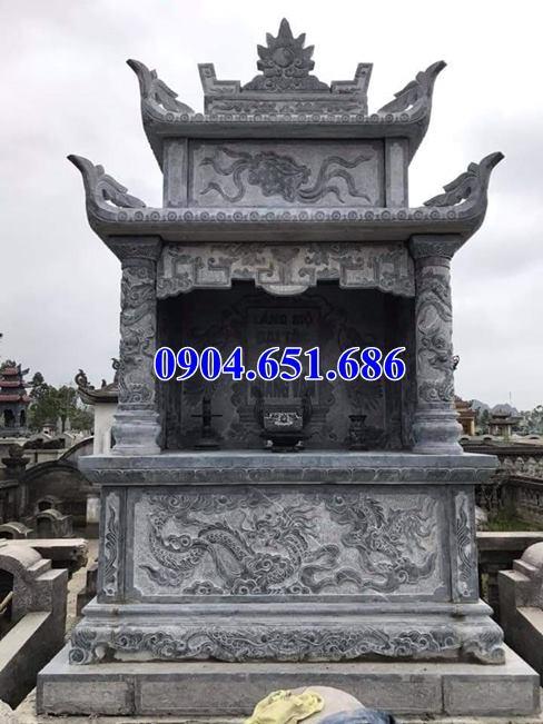 Thiết kế xây miếu thờ thủy thần bằng đá đẹp kích thước chuẩn phong thủy
