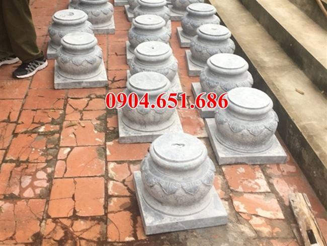 Đá kê cột gỗ tại Nghệ An