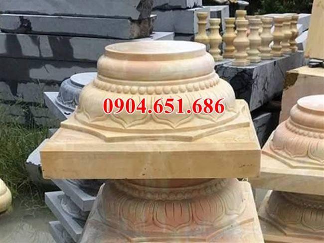 Địa chỉ bán, cung cấp, vận chuyển đá kê cột gỗ đẹp giá rẻ