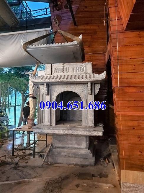 Địa chỉ bán, thi công lắp đặt, xây miếu thờ đá tại Sài Gòn