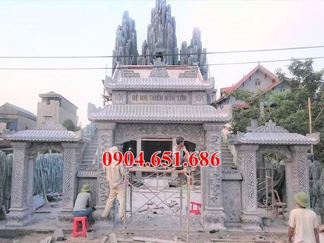 Địa chỉ bán và xây cổng nhà thờ họ tại Hà Giang uy tín chất lượng