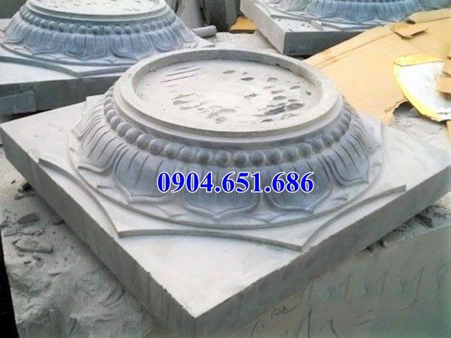 Mẫu đá kê cột tròn đẹp bán tại Bắc Ninh, Bắc Giang