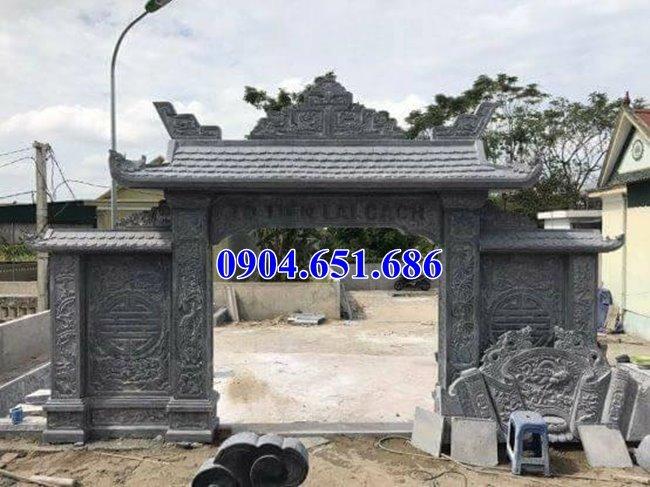 Mẫu cổng đá đẹp giá rẻ bán tại Nghệ An