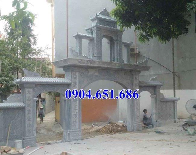 Mẫu cổng đình chùa đẹp bán tại Nghệ An, Hà Tĩnh