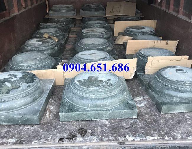 Mẫu chân tảng đá kê cột nhà thờ họ tại Bắc Ninh Bắc Giang
