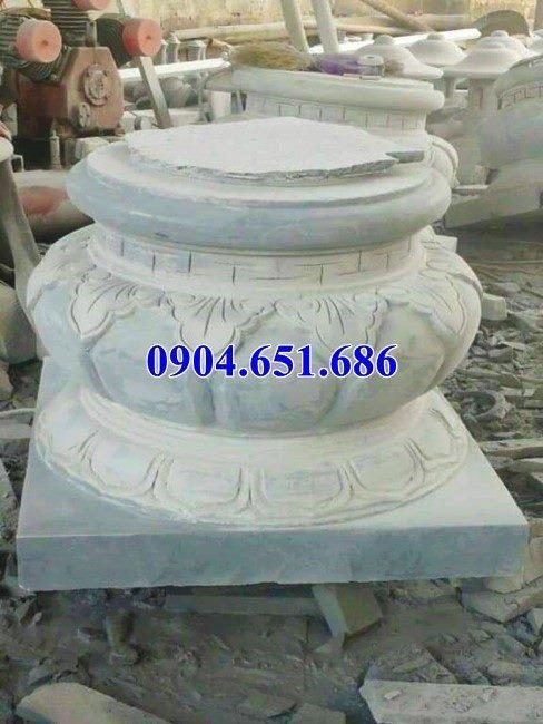 Mẫu chân tảng, đôn đá kê chân cột nhà gỗ đẹp tại Bắc Ninh , Bắc Giang