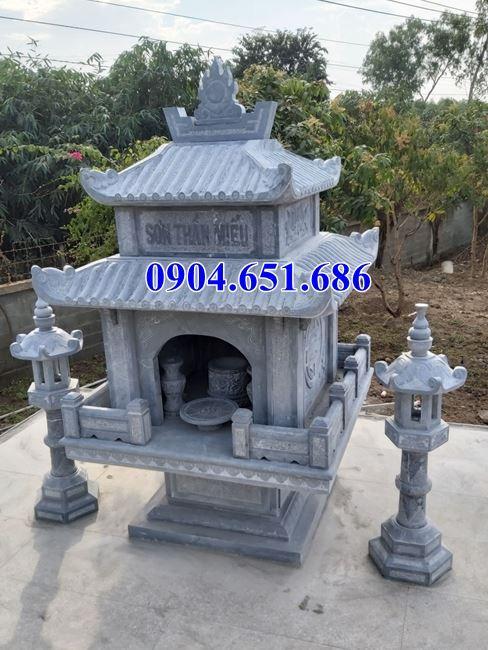 Mẫu miếu thờ thần linh bằng đá đẹp bán tại Hà Nội và các tỉnh thành khác