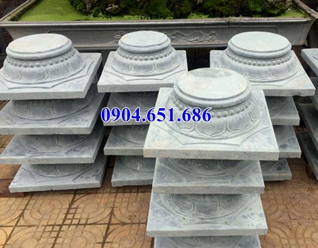 Địa chỉ bán, cung cấp, vận chuyển chân tảng, đá kê cột gỗ đẹp giá rẻ ở Sài Gòn