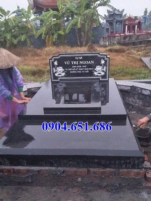 Địa chỉ bán, xây mộ bằng đá hoa cương granite kim sa Ấn Độ uy tín