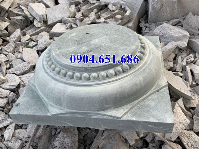 Chân tảng đá kê cột tại Kon Tum