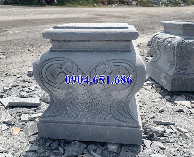 Giá chân tảng đá, đá kê chân cột nhà, đôn kê cột