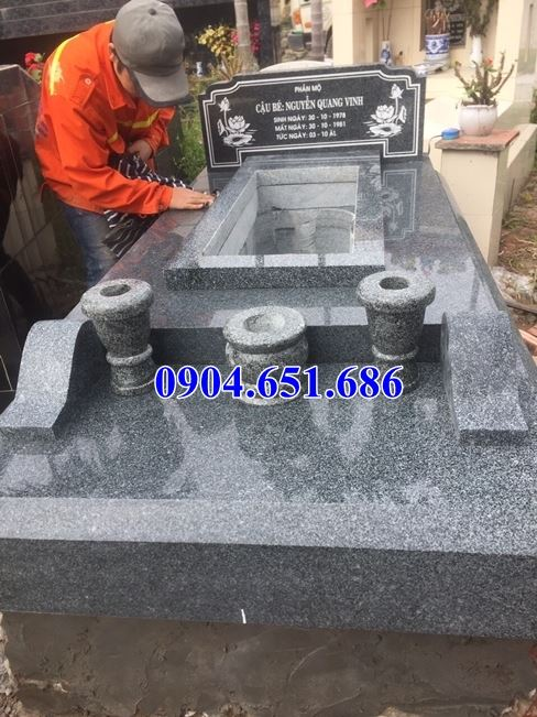 Giá xây mộ đá granite, Báo giá xây mộ đá granite kim sa