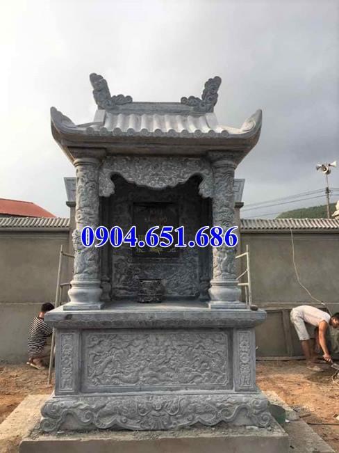 Mẫu am thờ đá lăng mộ kích thước chuẩn phong thủy