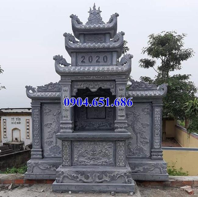 Mẫu am thờ chung bằng đá khối tự nhiên đẹp tại Vũng Tàu