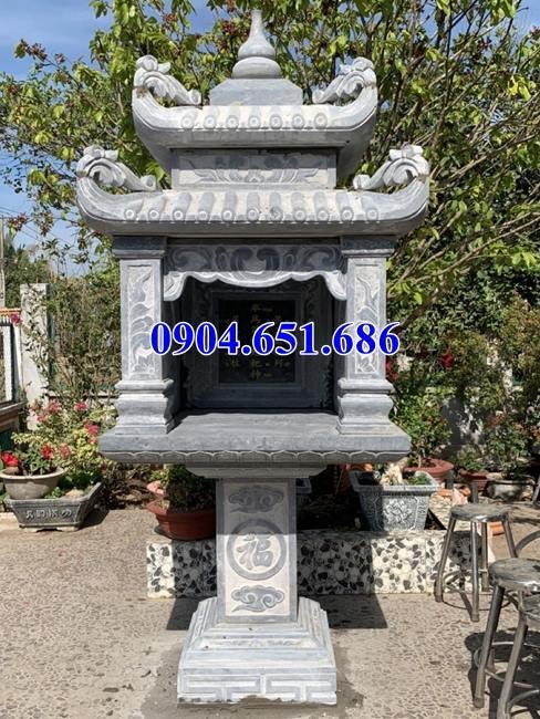 Mẫu bàn thờ thiên ngoài trời bằng đá xanh Thanh Hóa kích thước hợp phong thủy