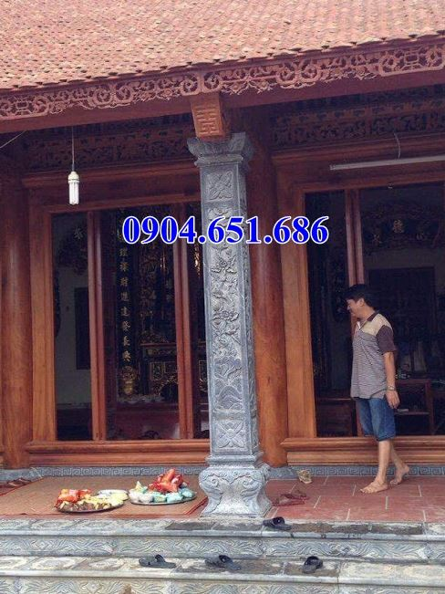 Mẫu cột đá đẹp bán tại Nghệ An
