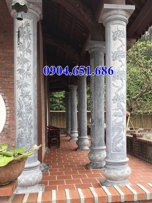 Mẫu cột hiên đá nhà thờ họ đẹp 25– Mẫu cột đá đẹp giá rẻ đ