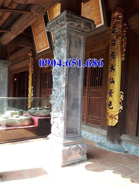 Mẫu cột hiên đình chùa bằng đá đẹp bán tại Nghệ An
