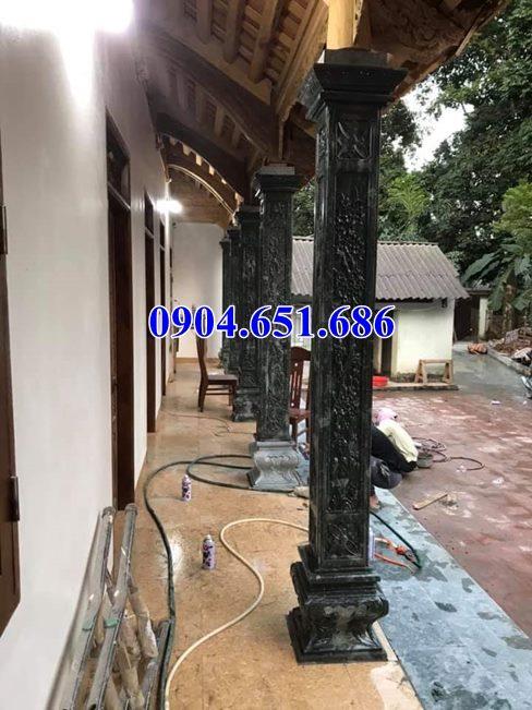 Mẫu cột hiên nhà từ đường bằng đá đẹp bán tại Nghệ An