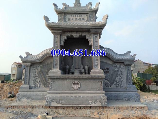 Mẫu lăng thờ, am thờ chung đá đẹp tại Tây Ninh, Bình Phước