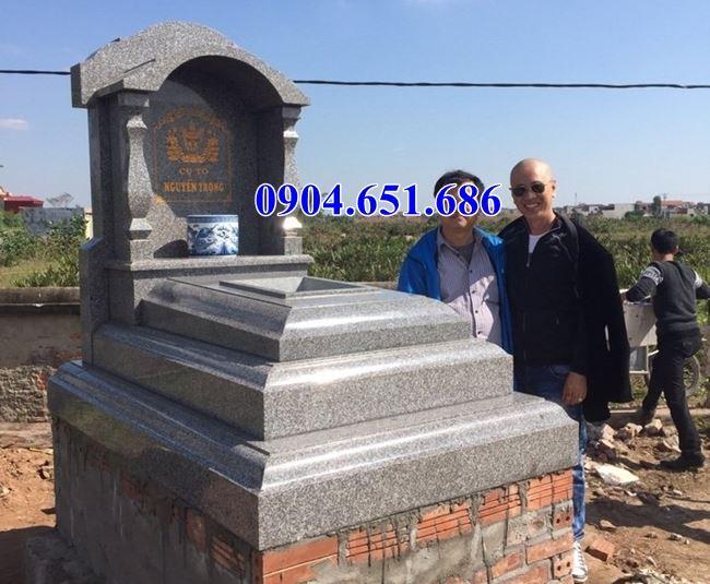 Mẫu mộ ốp đá granite đẹp giá rẻ
